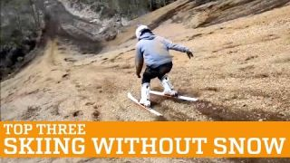 TOP THREE: SKIING WITHOUT SNOW | PEOPLE ARE AWESOME