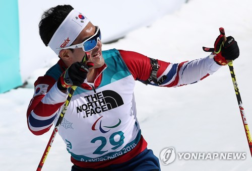 S. Korean para Nordic skier has no regrets quitting his job to play sports - Yonhap News