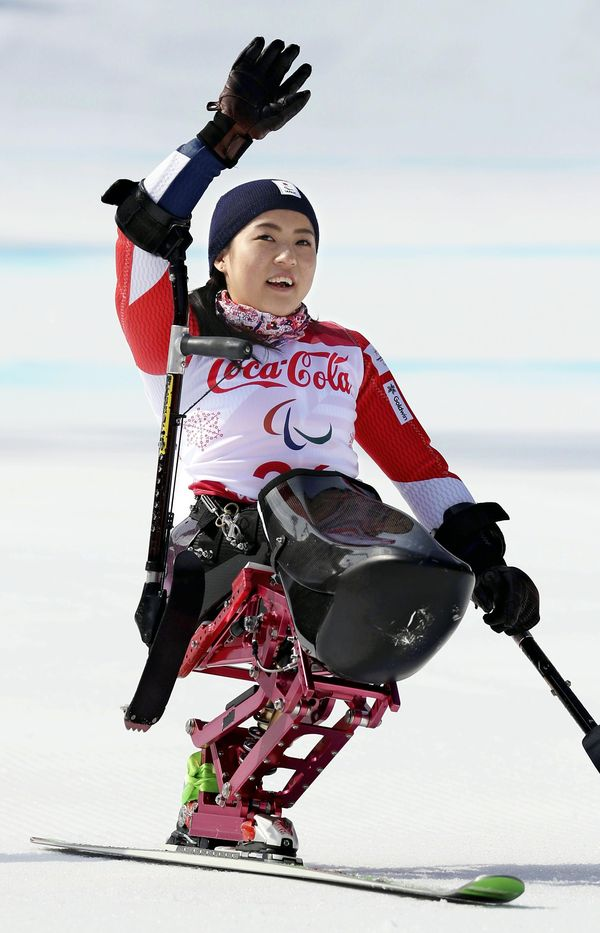 Japanese para alpine skier Muraoka wins silver - The Japan News