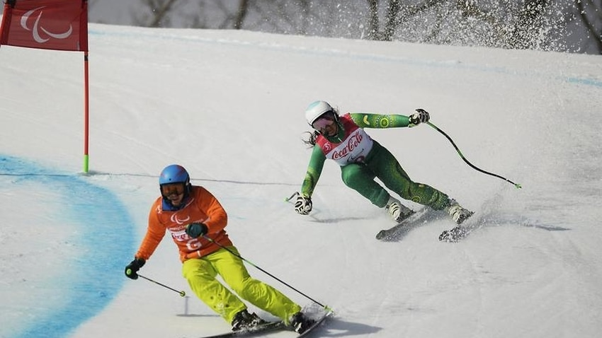 Perrine wins bronze in para-alpine skiing - SBS