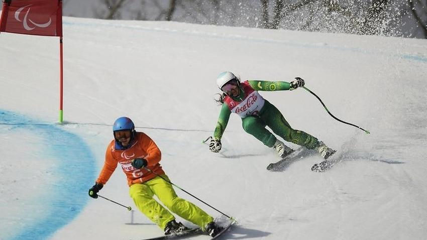 Perrine wins bronze in para-alpine skiing - SBS