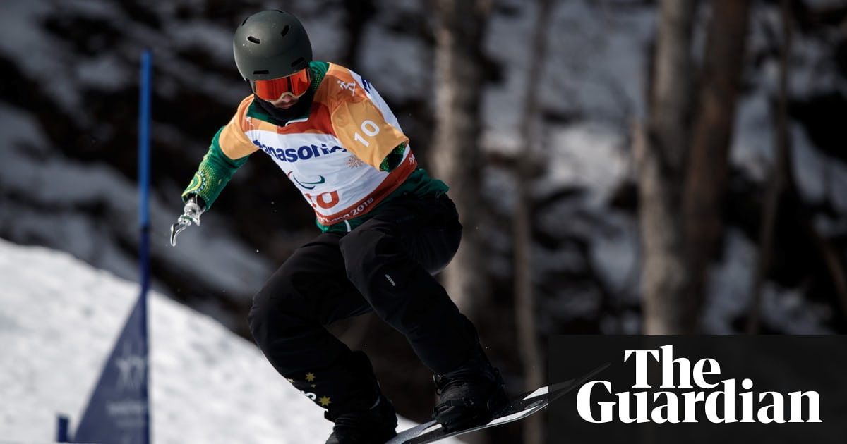 From shark attack survivor to para-snowboarder: the Sean Pollard story - The Guardian