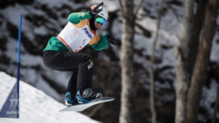 Winter Paralympics: Simon Patmore wins gold for Australia in snowboard cross - ABC Online