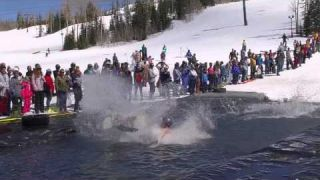 Brian Head Pond Skim Splash Reel