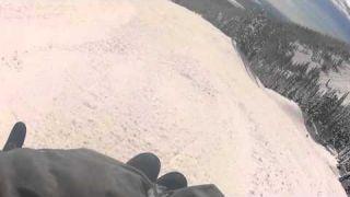 Sit skiing Whitefish Mountain resort