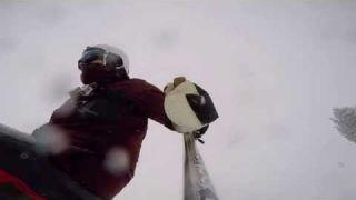Daniel Riley Skis Powder at Vail