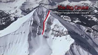 Big Couloir Monoski Descent