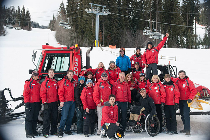 Adaptive Sports at Sun Peaks