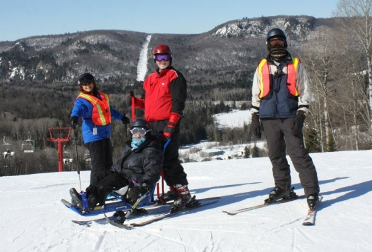 No Limits Adaptive Ski Club