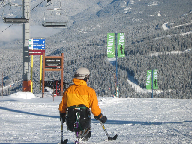 Whistler Adaptive Ski & Snowboard Program